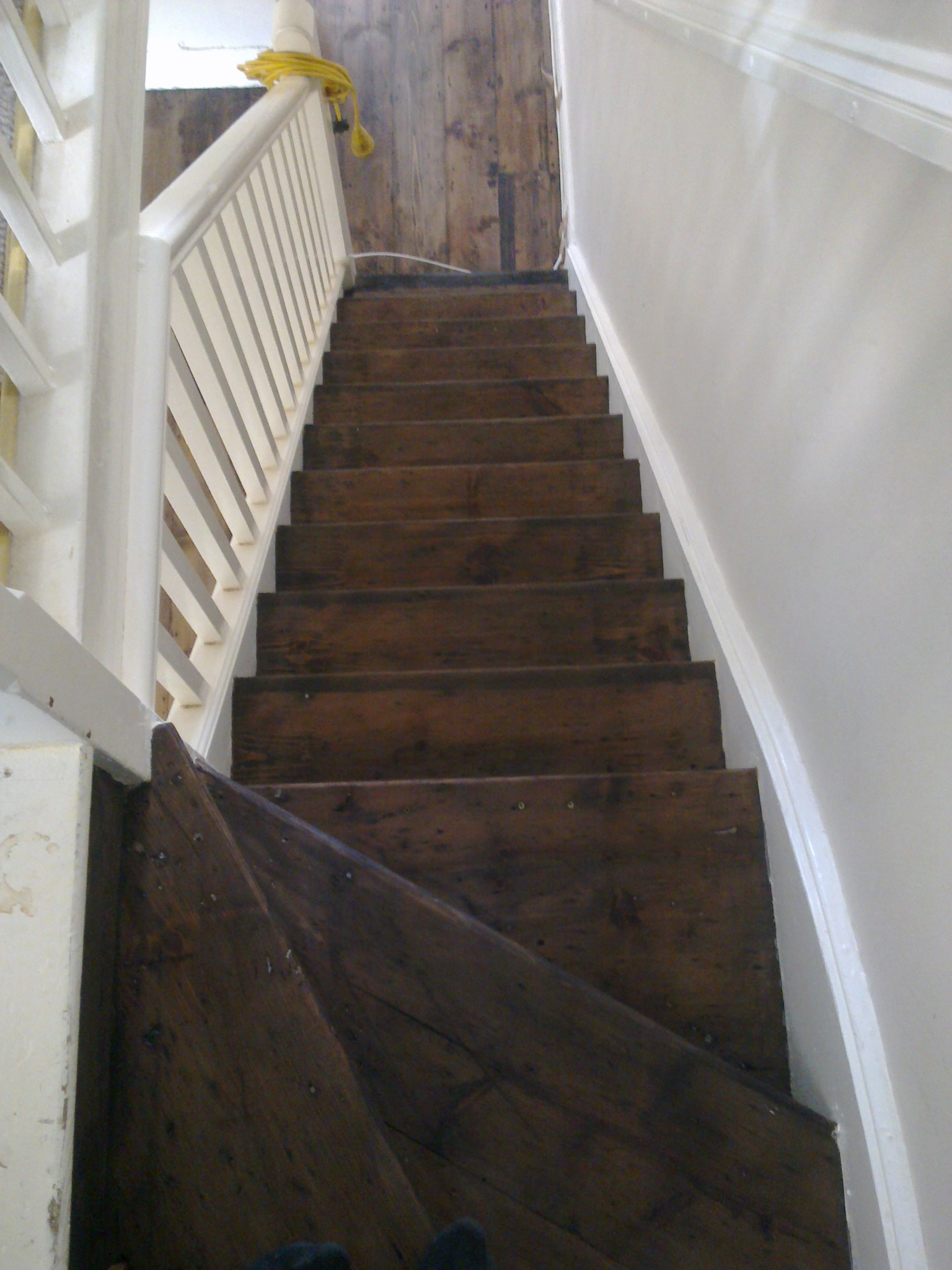 Stairs Restoration The Old Flooring Company