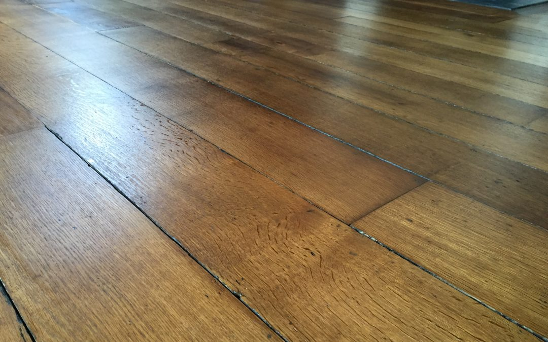 Antique Oak Floor Restoration