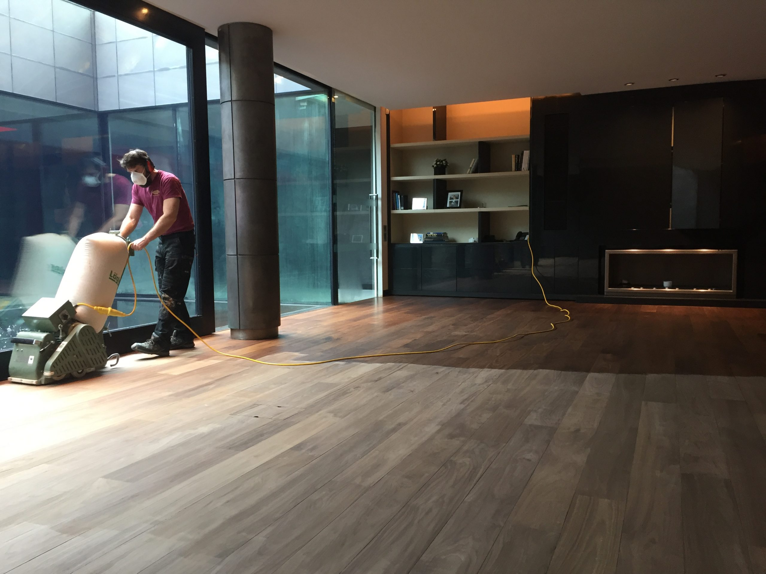 antique oak flooring repairs